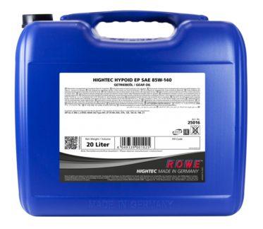 Трансмиссионное масло HIGHTEC HYPOID EP SAE 85W-140