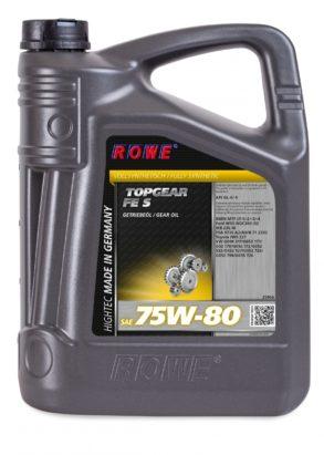Трансмиссионное масло HIGHTEC TOPGEAR FE SAE 75W-80 S