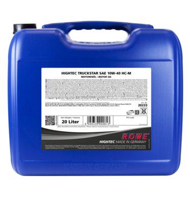 Моторное масло HIGHTEC TRUCKSTAR SAE 10W-40 HC-M