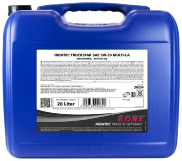 Моторное масло HIGHTEC TRUCKSTAR SAE 5W-30 MULTI-LA