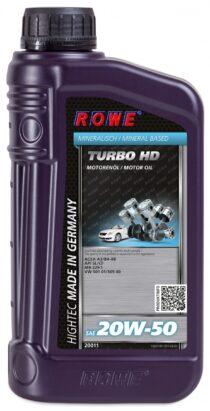 Моторное масло HIGHTEC TURBO HD SAE 20W-50