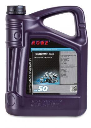 Моторное масло HIGHTEC TURBO HD SAE 50