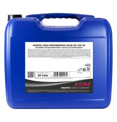 Трансмиссионное масло HIGHTEC HIGH PERFORMANCE GEAR OIL SAE 90