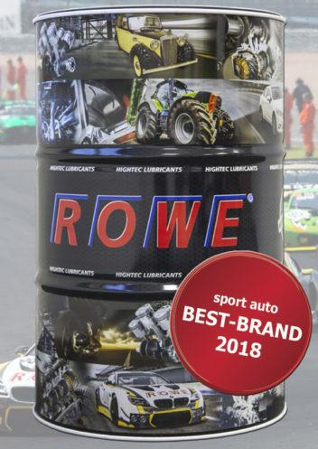 ROWE получил признание потребителей при голосовании за лучший бренд 2018 года.