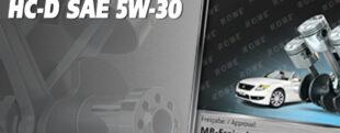 НОВЫЙ АРТИКУЛ МОТОРНОГО МАСЛА ROWE HIGHTEC SYNT RS HC-D SAE 5W-30 ЗАМЕНЯЕТСЯ ПРОДУКТОМ ROWE HIGHTEC SYNT RS SAE 5W-30 HC-GM