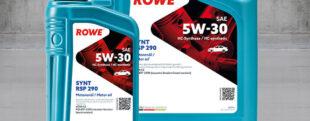 ROWE НОВЫЙ ПРОДУКТ HIGHTEC SYNT RSP 290 SAE 5W-30 ДЛЯ ДОПУСКА PSA B71 2290.