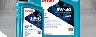 ROWE НОВЫЙ ПРОДУКТ HIGHTEC SYNT RS DLS SAE 5W-40